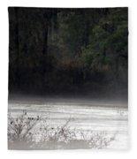 Hidden Places-beyond The Water Fleece Blanket