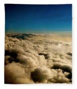 High Above Fleece Blanket