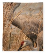 High And Low Fleece Blanket