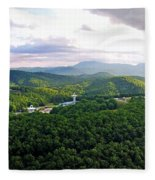 High Country 1 In Wnc Fleece Blanket
