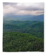 High Country 3 In Wnc Fleece Blanket