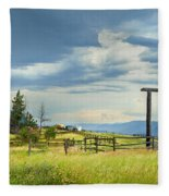 High Country Farm Fleece Blanket
