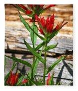 High Country Wildflowers Fleece Blanket