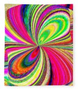 High Definition Color 1 Fleece Blanket