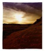 High Desert Clouds Fleece Blanket