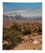 High Desert II Fleece Blanket