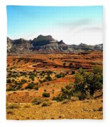 High Desert View Fleece Blanket