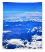 High In The Sky Fleece Blanket