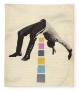 High Jump Fleece Blanket