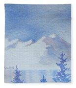High Lake Fleece Blanket