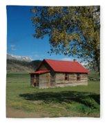 High Lonesome Ranch Fleece Blanket
