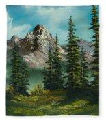 High Meadow Fleece Blanket