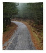 High Mountain Road Fleece Blanket