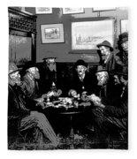 High Stakes Poker - 1913 Fleece Blanket