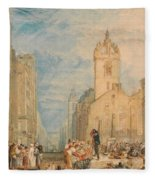 High Street - Edinburgh Fleece Blanket