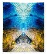 Higher Love Art By Sharon Cummings Fleece Blanket