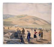 Highland Brigade Camp, Plate From The Fleece Blanket