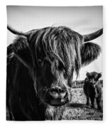 Highlander 1 Fleece Blanket