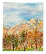 Highlands Autumn Fleece Blanket