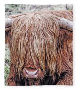 Highlands Coo Fleece Blanket