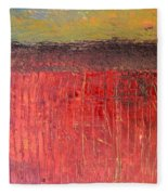 Highway Series - Cranberry Bog Fleece Blanket