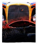 Highway To Hell Fleece Blanket