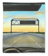 Highway Fleece Blanket
