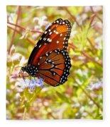 Hill Country Butterfly Fleece Blanket