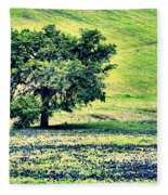 Hill Country Scenic Hdr Fleece Blanket
