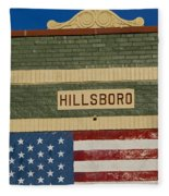 Hillsboro Village Nashville Fleece Blanket