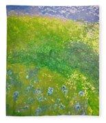 Hillside By Jrr Fleece Blanket