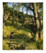 Hillside Forest Fleece Blanket
