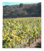 Hillside Vineyard Fleece Blanket