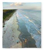 Hilton Head Island Beach Fleece Blanket