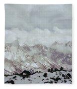 Himalayan Sherpa Memorial Fleece Blanket