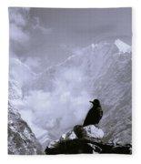 Himalayan Freedom Fleece Blanket