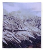 Himalayas Fleece Blanket