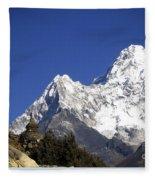Himalayas Fleece Blanket