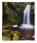 Hindhope Waterfall Fleece Blanket