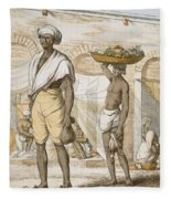 Hindu Valet Or Buyer Of Food, From The Fleece Blanket