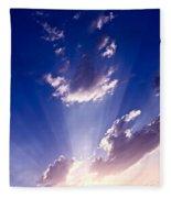 His Glory 2 Fleece Blanket
