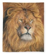His Majesty - Detail Fleece Blanket
