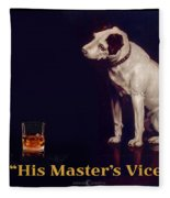His Masters Vice Fleece Blanket
