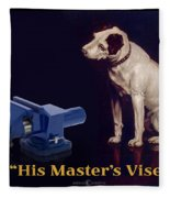 His Master's Vise Fleece Blanket