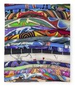 His Tshirt Collection Fleece Blanket