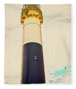 Historic Absecon Lighthouse Fleece Blanket