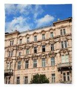Historic Apartment House In Budapest Fleece Blanket