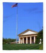Historic Arlington House Fleece Blanket