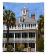 Historic Battery Home Fleece Blanket