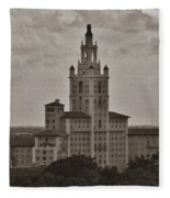 Historic Biltmore Hotel Fleece Blanket